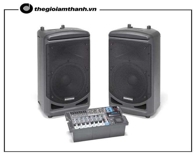 Loa di động Samson cung cấp âm thanh chất lượng, công suất lớn