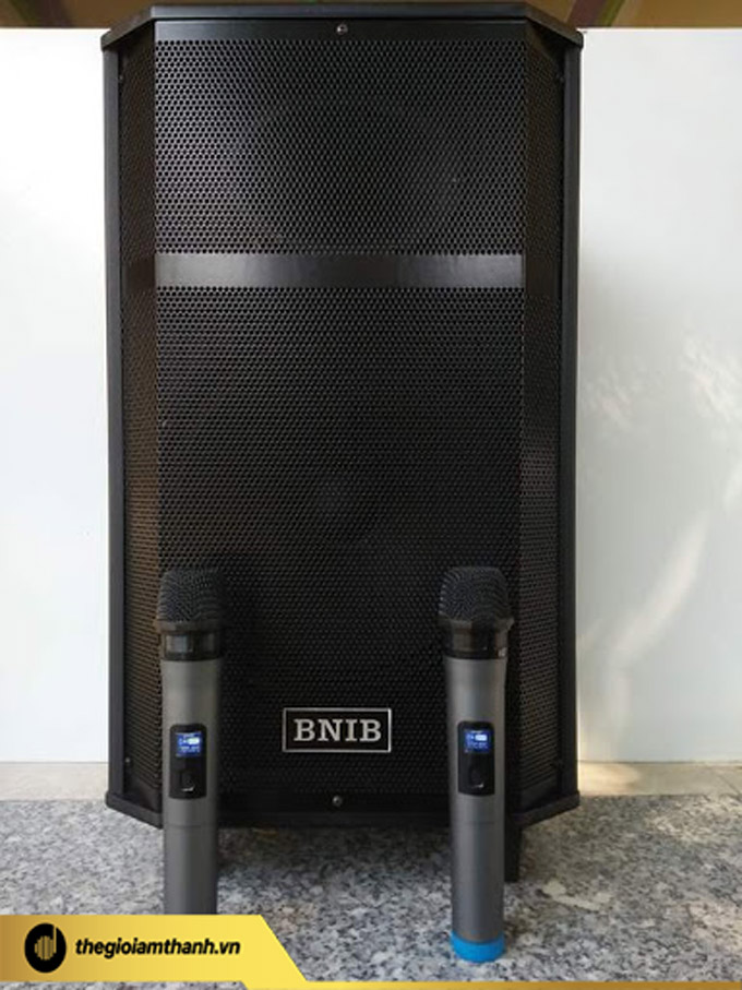 Vẻ ngoài sang trọng, hiện đại của loa kéo di động BNIB