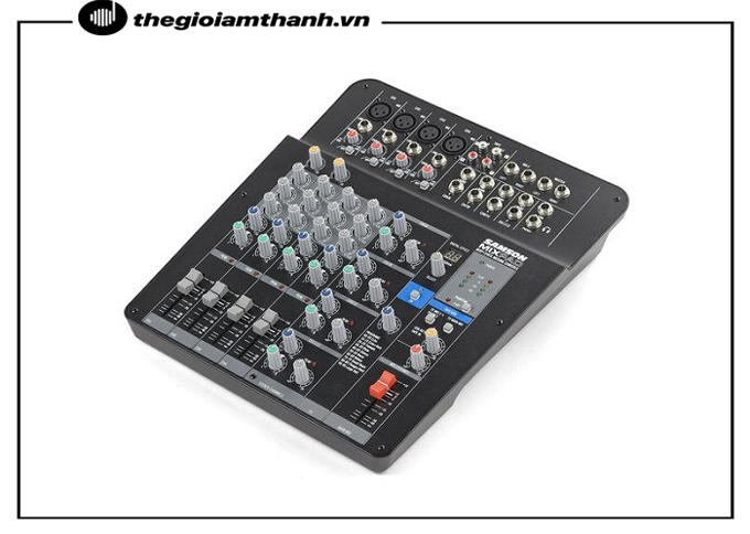 Mixer Samson phù hợp với nhiều dàn âm thanh khác nhau